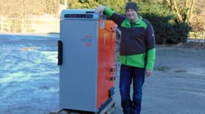 Betriebsleiter Ulrich Holzer freut sich auf die neue Heizung.