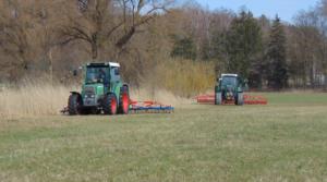 Striegeln und Walzen ist die beste Weidepflege